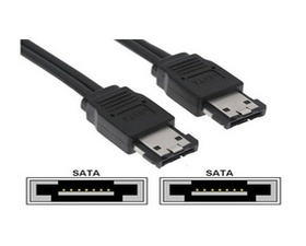 Nano Cable de Datos Ext. eSATA 1m