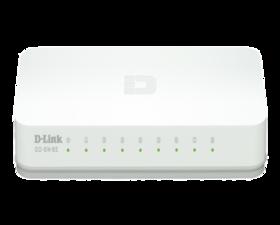 D-Link 8 Puertos 10/100 D-LinkGO