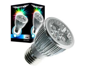 Retto E27 5W Dicroica LED Luz Fria