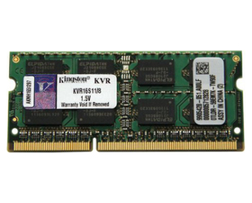Kingston DDR3 8GB 1600Mhz Portátil