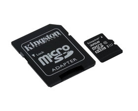 Kingston MicroSD 16GB Clase10