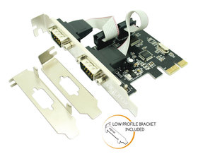 Approx Adaptador PCI-E 2 Puertos Serie