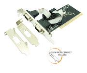 Approx Adaptador PCI 2 Puertos Serie