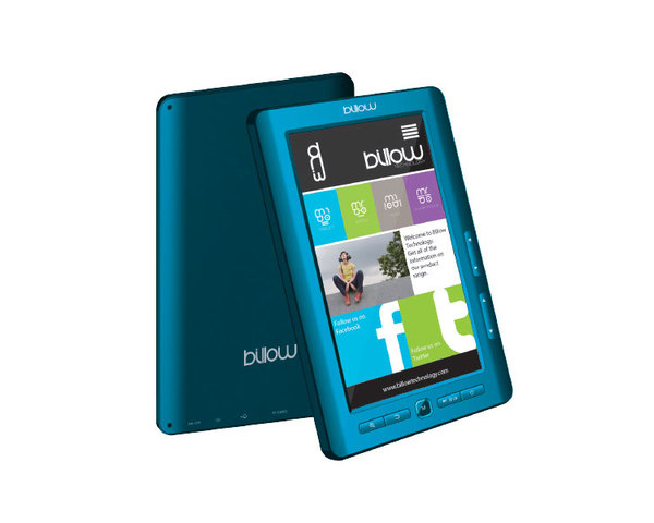Libro electrónico Billow eBook Color 7'' 4GB Azul