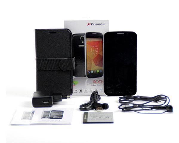 Smartphone Phoenix Rock X1 5'' Negro