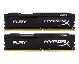 Kingston DDR4 16 GB(2X8GB) 2133MHz HyperX FURY Black