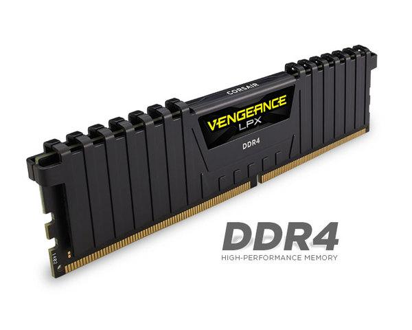 Memoria RAM Corsair Vengeance LPX DDR4 16Gb (2x8Gb) 2400MHz