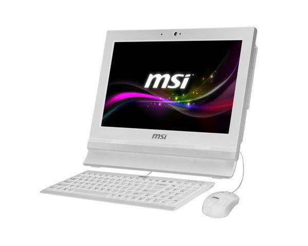 MSI AIO AP1622ET-037XEU Táctil Blanco