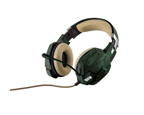 Auriculares Trust GXT322 Verde Camuflaje
