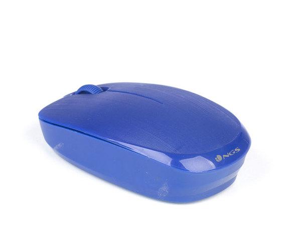 Ratón NGS Fog Óptico Azul Wireless