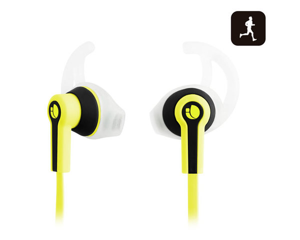 Auriculares NGS Sport Racer amarillo