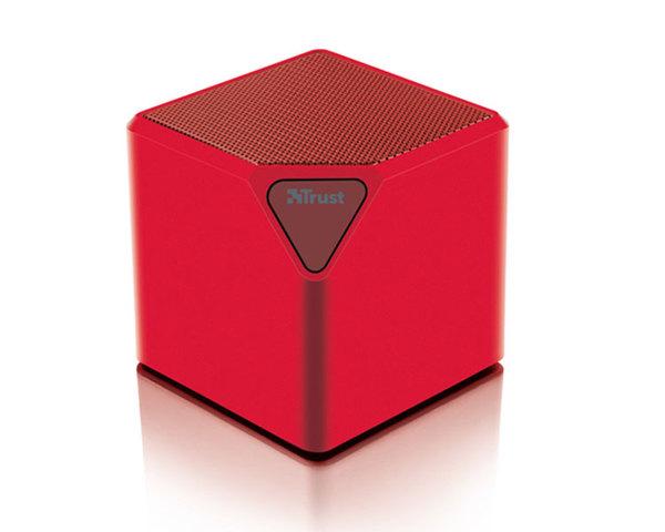 Altavoz Trust Ziva Bluetooth Rojo