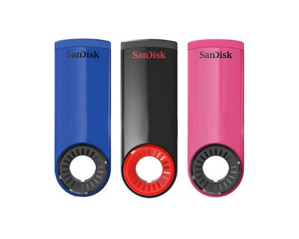 Pack Sandisk Cruzer Dial 16GB con 3 unidades