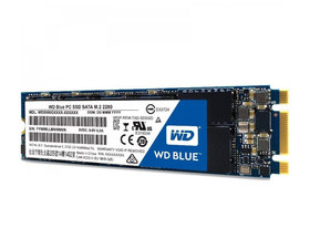 Western Digital Serie M.2 500GB SSD Blue