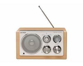 Denver TR-61 Lightwood Radio Retro