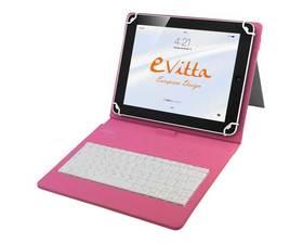 E-Vitta Funda + Teclado Tablet 10.1'' Keytab Rosa