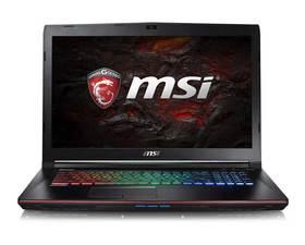 MSI GE72 7RE(Apache Pro)-608XES i7-7700HQ/16GB/1TB/ GTX1050 Ti/17.3''
