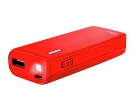 Trust Neon PowerBank 4400mAh Rojo