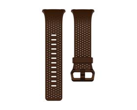 Fitbit Correa Cuero Perforado Ionic Coñac L