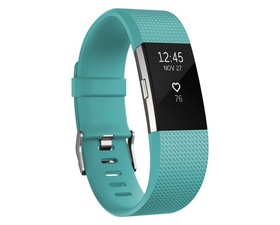 Fitbit Charge 2 L Verde Azulado/Plata