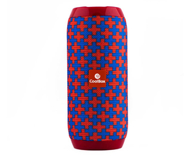 Coolbox CoolTube Rojo/Azul Bluetooth