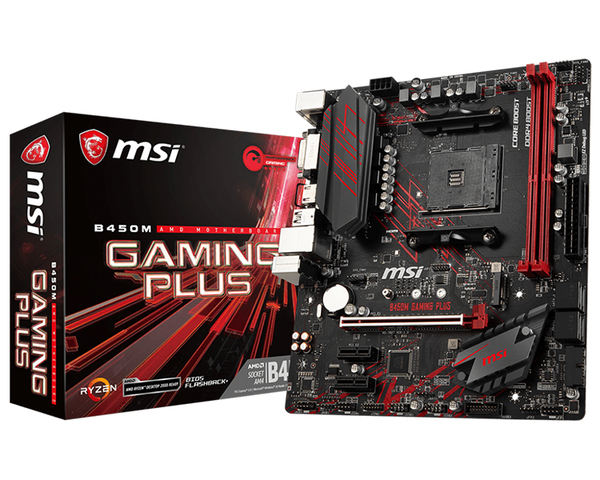 Placa base MSI B450M GAMING Plus