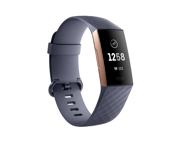 Pulsera Fitbit Charge 3 Oro Rosa