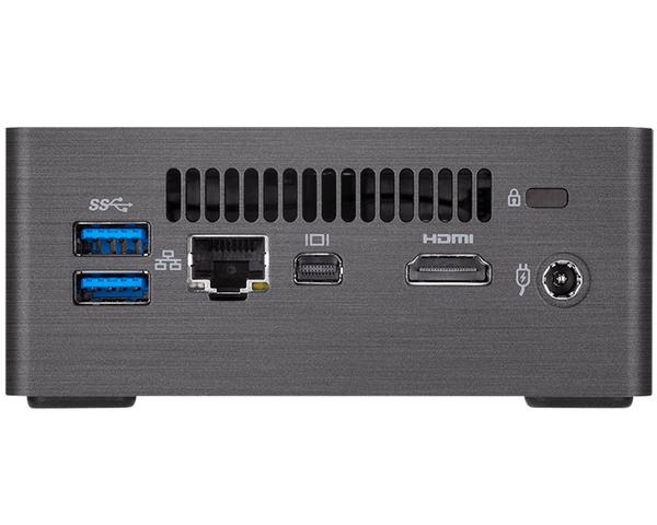 Conectores Gigabyte BRIX BRI7H-8550 i7-8550U