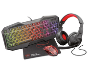 Trust GXT 1180RW Bundle 4 en 1 Gaming