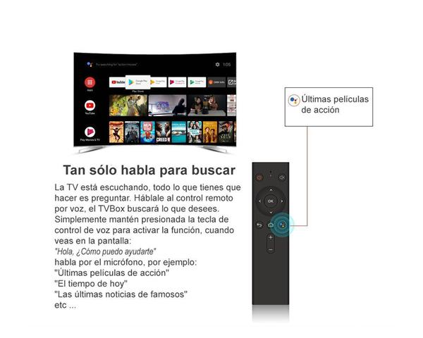 Leotec Android TvBox GCX2 432 4GB 32GB 4k