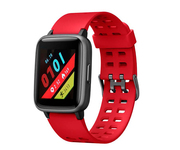 Leotec Multisport Worldfit Smartwatch Rojo