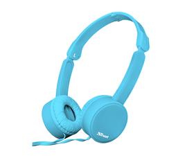 Trust Nano Auriculares Plegables Azul