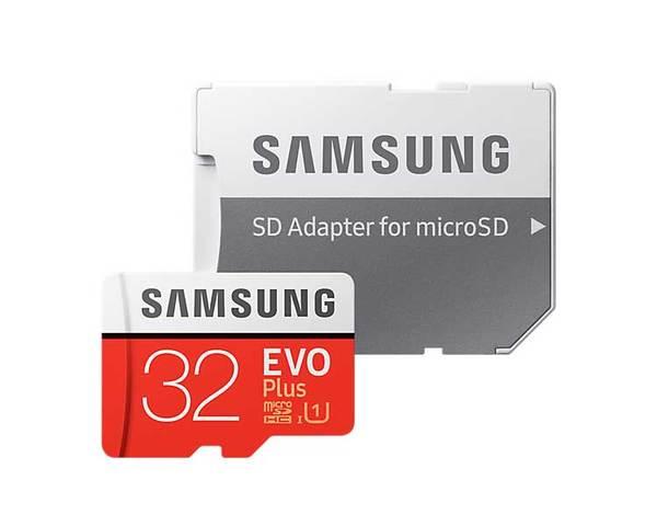 Samsung MicroSD EVO Plus 32GB Clase 10 + Adaptador