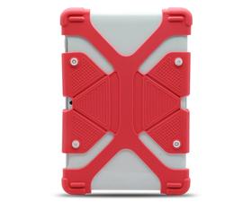 """E-Vitta Protector Silicona para Tablet 9.7""""-12"""" Rojo"""