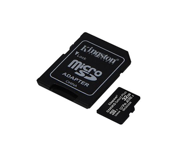 Kingston MicroSD 32GB Canvas Select Plus con Adaptador Pack de 3 Unidades