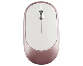 Subblim Smart Ratón Inalámbrico Bluetooth 1600DPI Blanco/Rosa Dorado