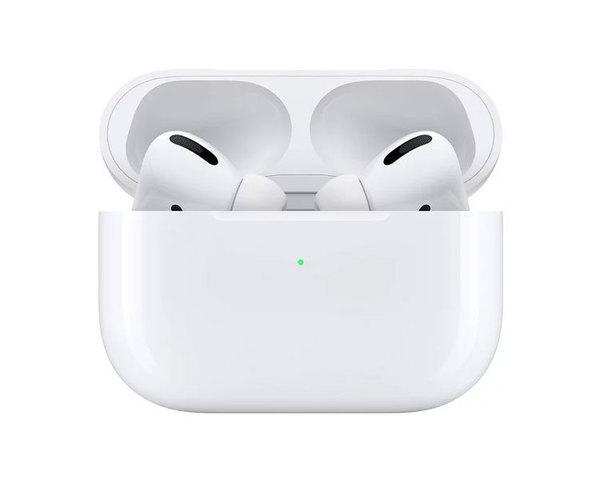 Apple AirPods Pro Auriculares Inalámbricos con Micrófono y Estuche de Carga Inalámbrica