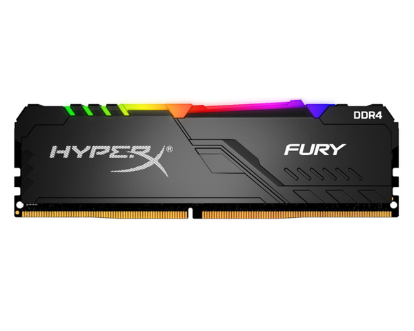 Kingston HyperX Fury RGB Black DDR4 8GB 3600 Mhz.