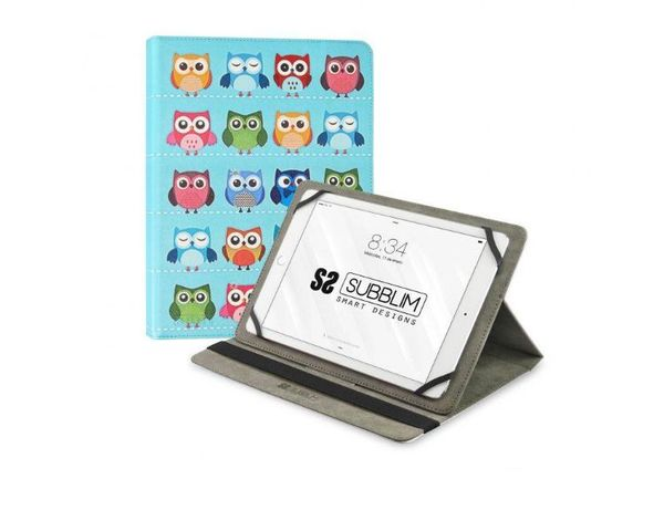 "Subblim Funda Owls para Tablets hasta 10.1"""