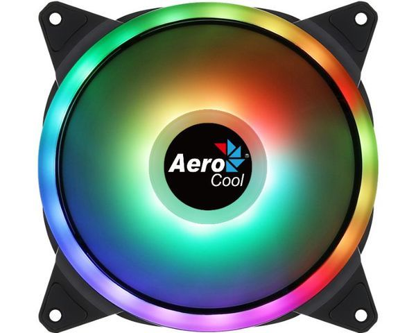 Aerocool Duo 12 RGB Ventilador Auxiliar 120x120mm