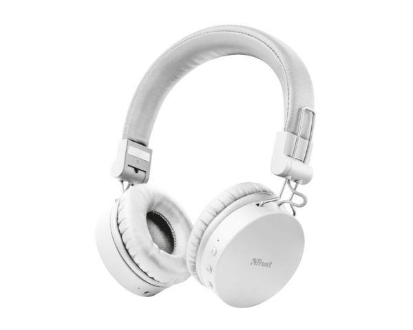 Trust Tones Auriculares Inalámbricos Bluetooth Blanco