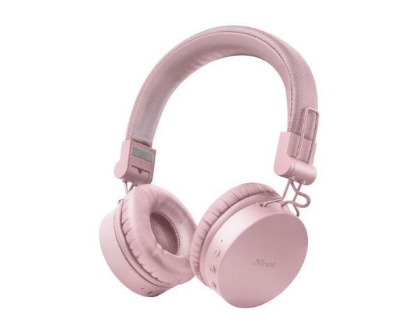 Trust Tones Auriculares Inalámbricos Bluetooth Rosa