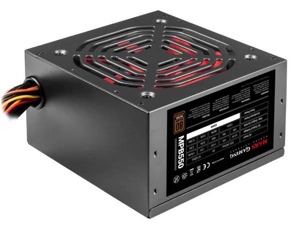 Mars Gaming 550W 80 Plus Bronze