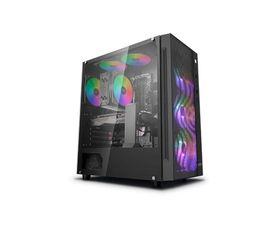 DeepCool Matrexx 55 Mesh ADD RGB 4F E-ATX Cristal Templado USB 3.0