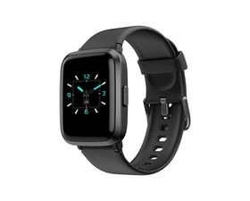Leotec SquareFit BP Smartwatch Negro