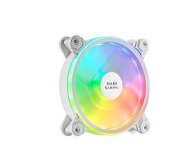 Mars Gaming MFX Ventilador ARGB Dual 120mm Blanco