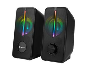 NGS GSX-150 Altavoces Gaming LED RGB Negro